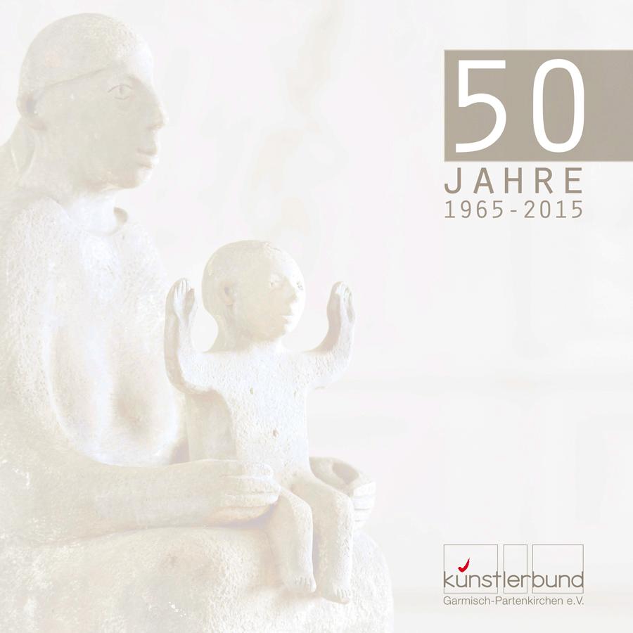 Grafikdesign - Katalog des Künstlerbundes Garmisch-Partenkirchen