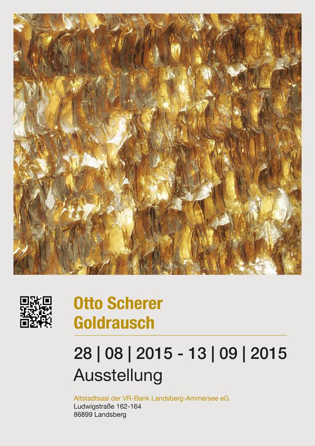 Grafikdesign - Plakat des Künstlers Otto Scherer