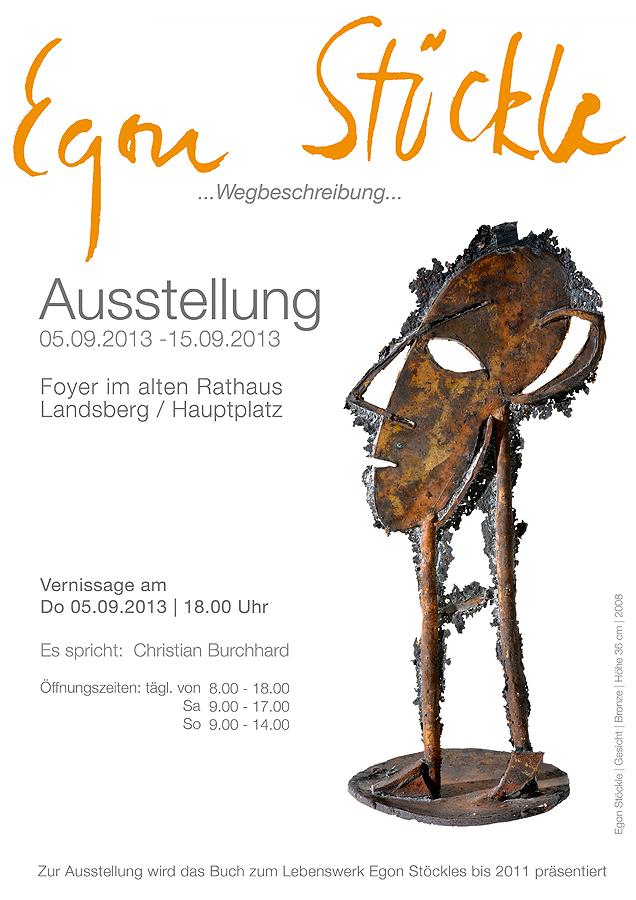 Grafikdesign - Plakat Egon Stöckle