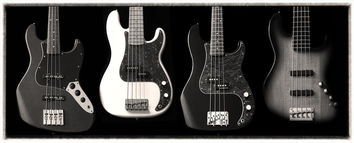 Fender Precision- und Jazzbässe